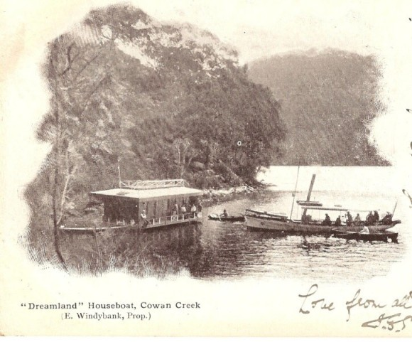 Postcard Berowra Cowan