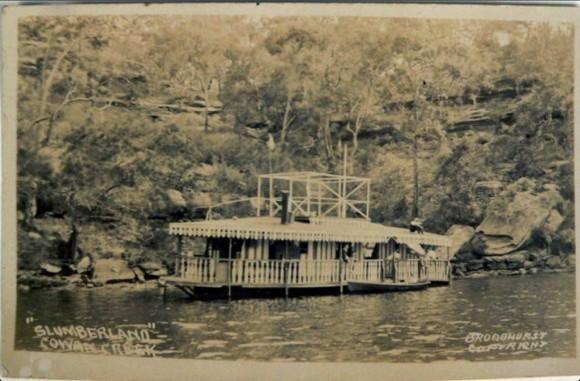 Slumberland boat Cowan Creek