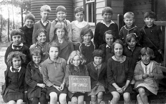 Years  1, 2 and 3 at Berowra Public School, 1929
