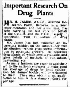 Article from 'The Farmer And Settler', August 27, 1942