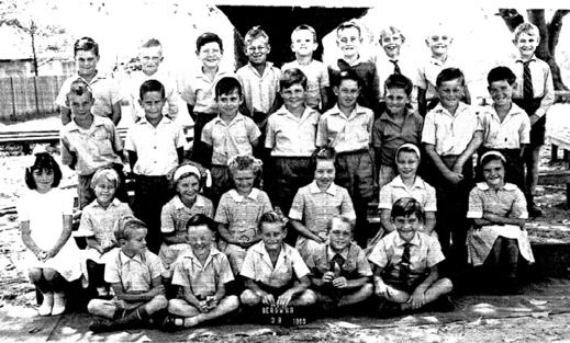 Class 3B of 1965. The same people are featured