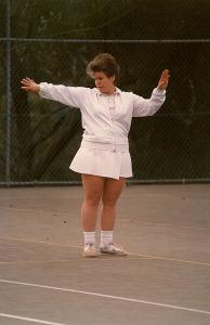 Jenny Bentley (nee Olson) Umpire