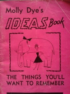 Pink Molly Dye's ideas book Apr '015