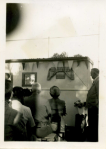 Opening of the Co Op 1951 in Alan Rd Berowra- from the collection of Eric & Iris Frost