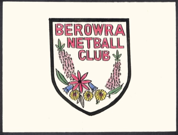 Berowra Netball Club Badge