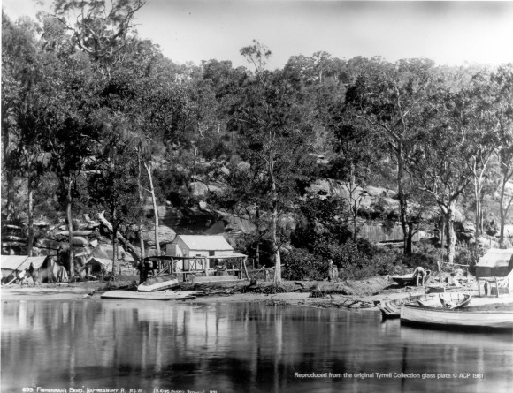 Fisherman's Bend Hawkesbury River  Tyrrell collection   HSC L S Coll